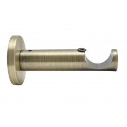 Support Tringle Ouvert D28 Saillie 93mm Bronze