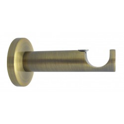 Support Tringle Ouvert D20 Saillie 76mm Bronze