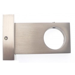 Support Tringle Ferme D28 Saillie 65mm Nickel Mat