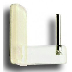 Support Adhesif Saillie 15mm Transparent  Supports Adhesif