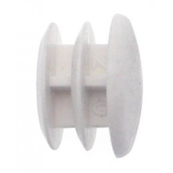 Embout Pour Tube Tringle 20 Blanc
