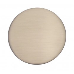 Embout Tringle à Rideau D28 Rond Nickel Mat
