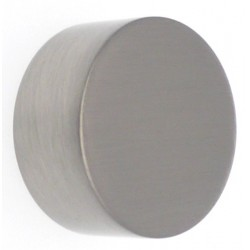 Embout Tringle à Rideau D28 Bouchon Nickel Mat