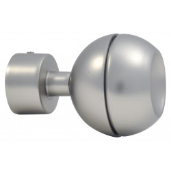 Embout D20 Sphere Ouverte Nickel Givre Embouts Sphere