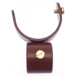 Collier D35 pour Tige 20mm Laqué Chene pour Tringle à Rideau