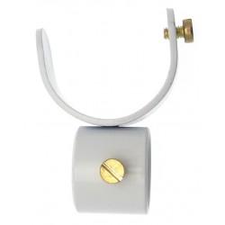 Collier D35 pour Tige 20mm Blanc pour Tringle à Rideau
