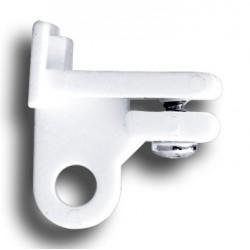 Arret De Fin pour tringle 15x10 Blanc