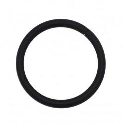 Anneau Tringle Simple D30x38 Noir Mat