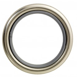 Anneau Tringle Simple D28x39 Nickel Mat