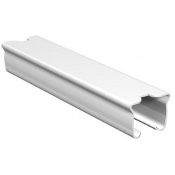 Raccord pour tringle 20x14mm Blanc