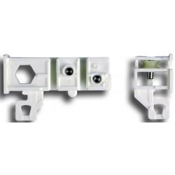Garniture Poulie/24x16 Ss Fen Blanc Garnitures Poulie pour rail