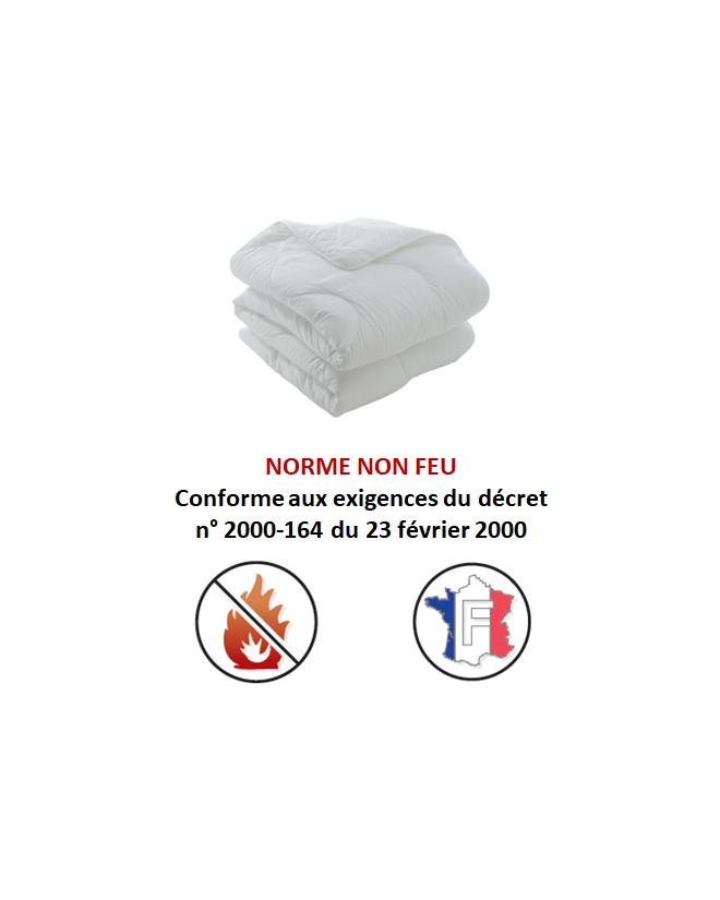 """Couette Hôtel \\""""Tout Non Feu M1\\"""""""